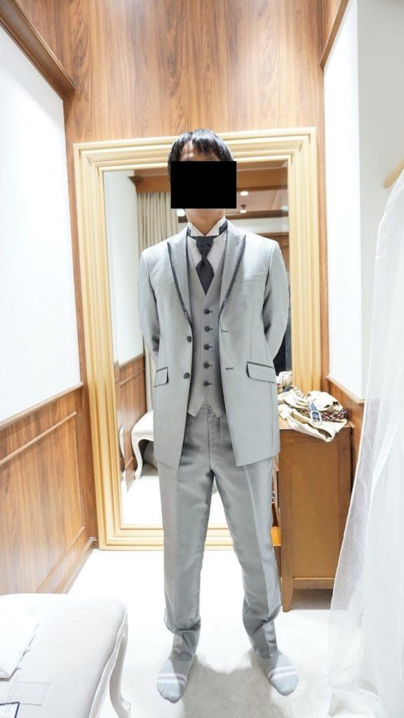 海外挙式グアム結婚式の衣装選びタキシード