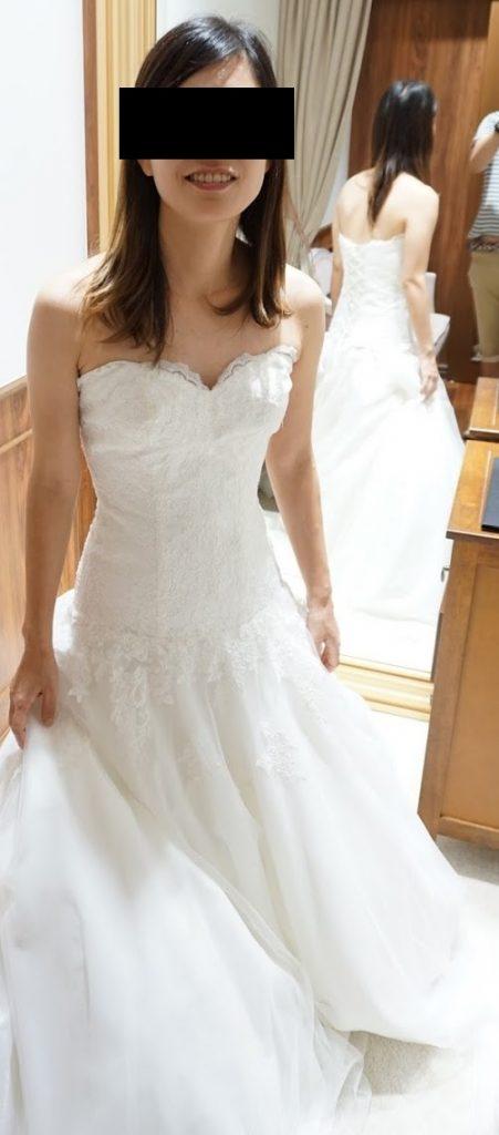 海外挙式グアム結婚式の衣装選びウエディングドレス