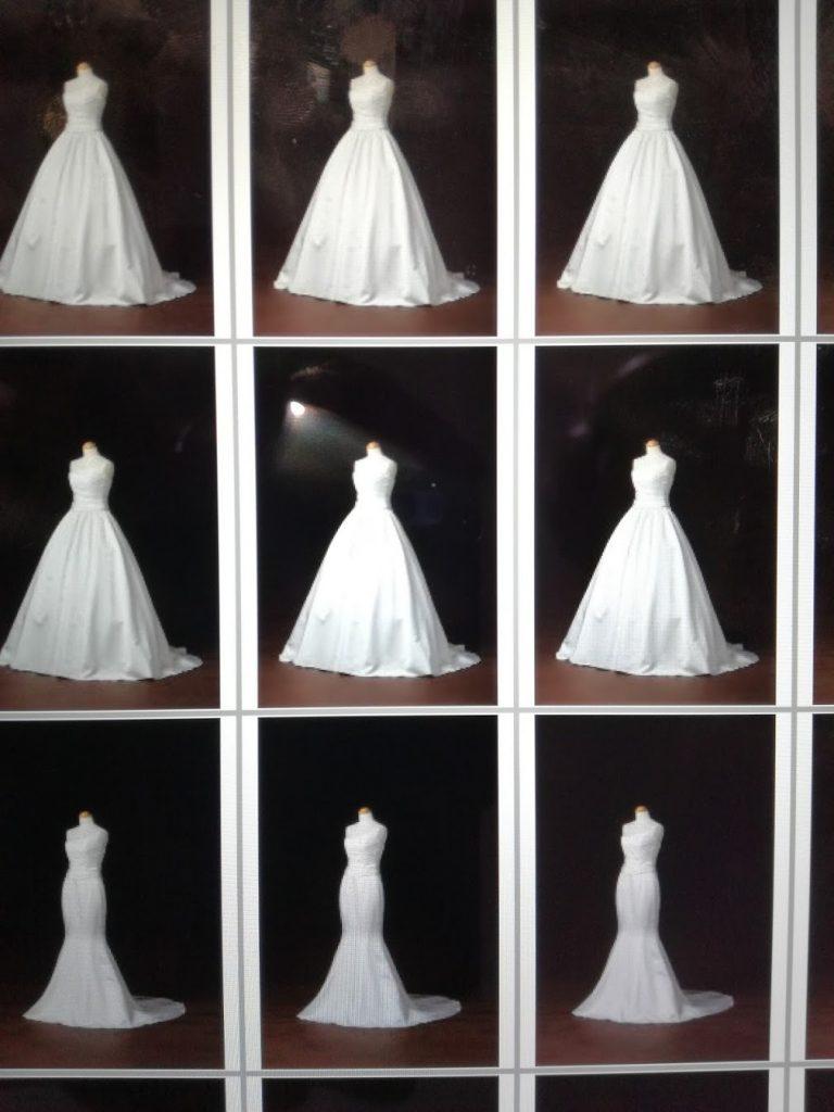 小さな結婚式 ウエディングドレス