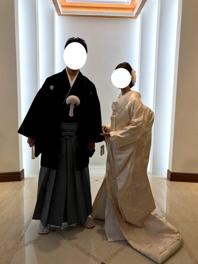 和装前撮りフォトウエディング 小さな結婚式 自撮り