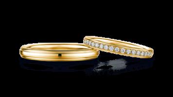 結婚指輪素材ゴールド