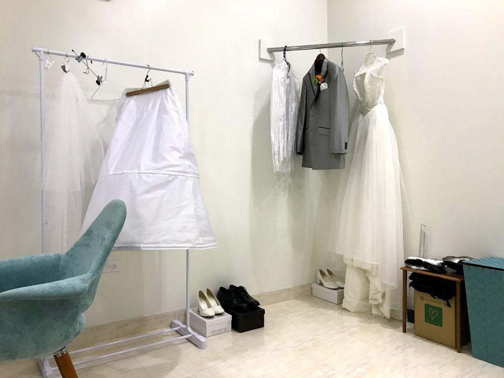 グアム人気のチャペル_アクアシンフォニーチャペル衣装室