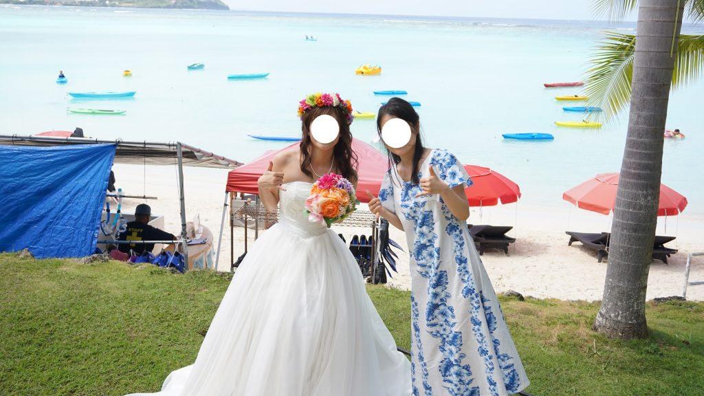 グアム結婚式の写真 アクアシンフォニーチャペル
