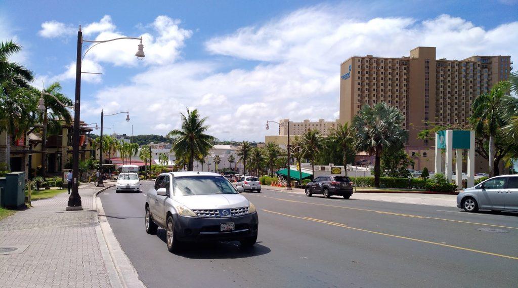 グアム中心街