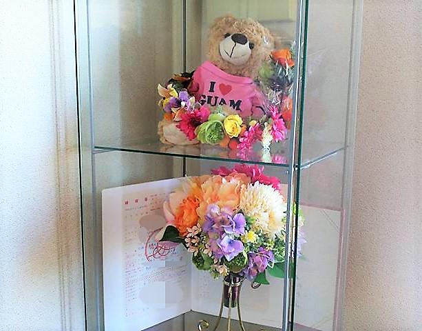 小さな結婚式 挙式費用節約 造花ブーケ