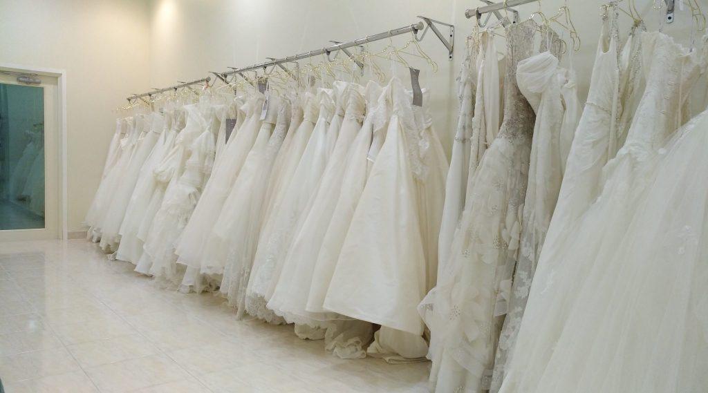 結婚式場見学 ウエディングドレス試着会