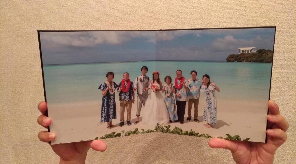グアム挙式料金節約 写真アルバム