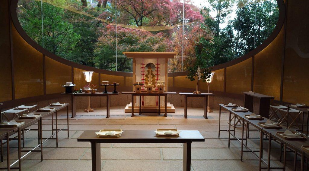 ホテル椿山荘東京 結婚式チャペル